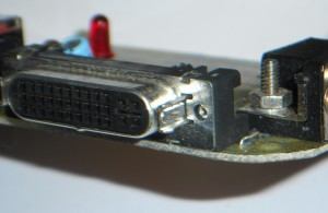 ADC connector shield.